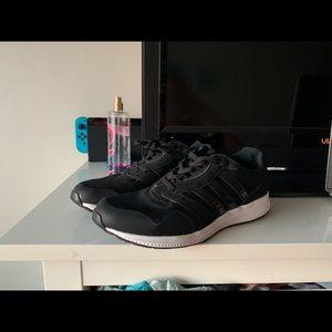 Black Adidas shoes